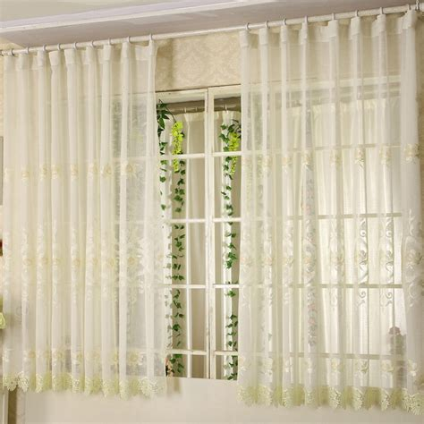 short curtains short sheer curtains for bay windows in elegant