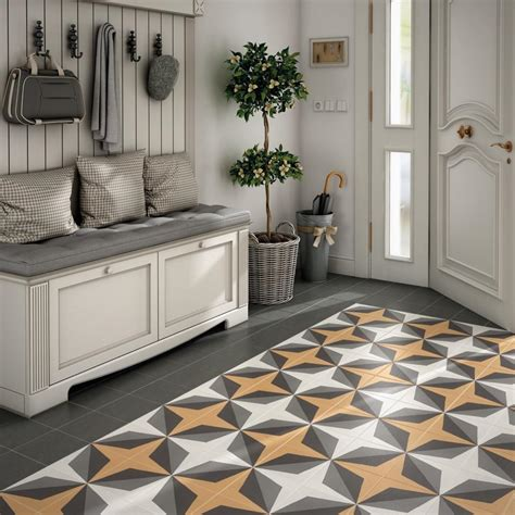 patterned hall tiles a guide to using decorative patterned wall floor tiles