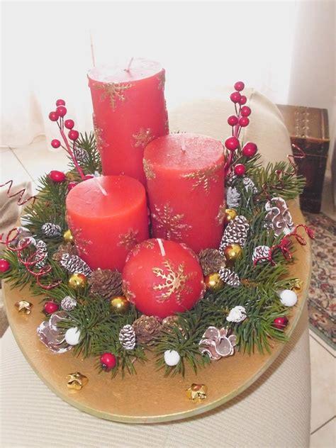 composizione con candele composizione centrotavola con candele creazioni