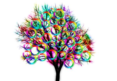 images tree free illustration tree structure gears color free