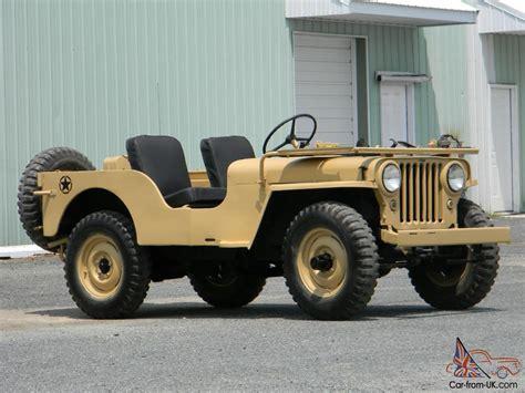 military jeep tan jeep willys cj 2a army like cj5 cj6 cj7 cj8 wrangler