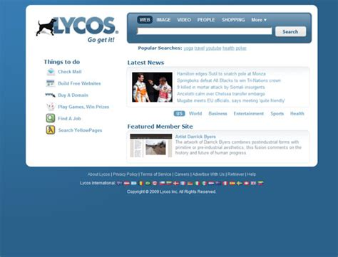 Lycos Search Popular Search Engines Then And Now