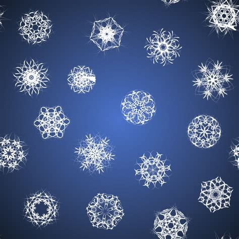 snowflake pattern clipart snowflakes clip art at clker com vector clip art online