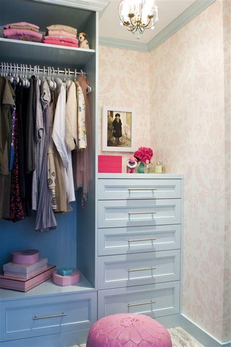 blue and pink closet contemporary closet house home