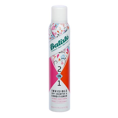 Bmks Shoo 2 In 1 With Conditioner naaaa review for batiste 2 in 1 invisible shoo conditioner orange and pomegranate