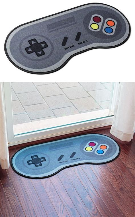 nintendo controller rug 16 bit controller doormat classic and nintendo