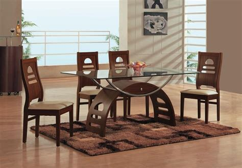 glass and wooden dining tables 20 best rectangular dining tables sets dining room ideas
