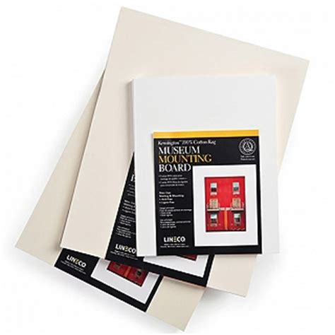 100 cotton rag mat board lineco kensington buffered 4 ply 100 rag museum board mat