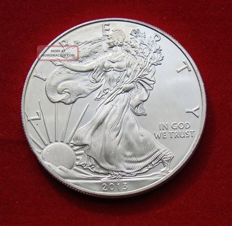 1 oz liberty eagle silver 999 2013 silver dollar coin 1 troy oz american eagle walking