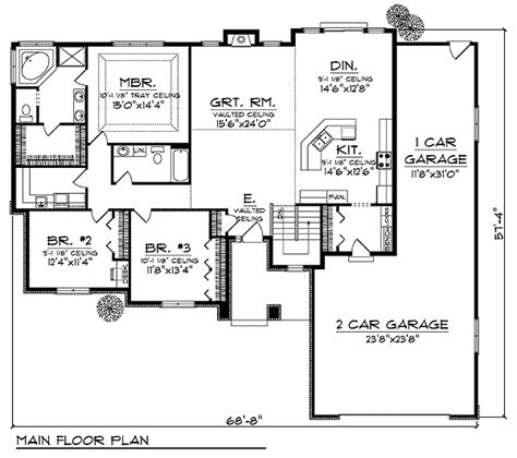 Hip Roof Home Plans by Hip Roof House Plans Smalltowndjs