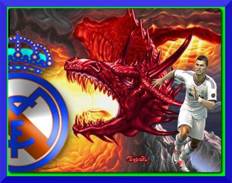 imagenes real madrid de corazon dragon cr7 por rmadridistax10 escudo fotos del real madrid