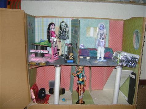how to make monster high doll house monster high doll house by shirelpet on deviantart