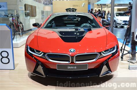 red bmw 2016 bmw i8 protonic red edition geneva motor show live