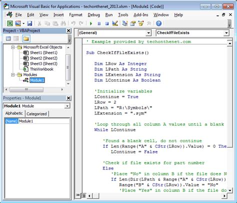 coding visual basic exles ms excel 2013 open the visual basic editor