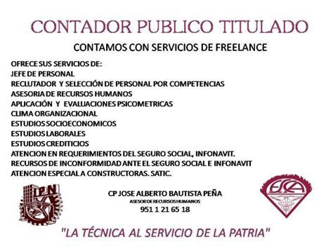 Modelo Curriculum Vitae Contador Publico Contador Publico Con Experiencia De De 25 A 209 Os En Oaxaca De Ju 225 Rez