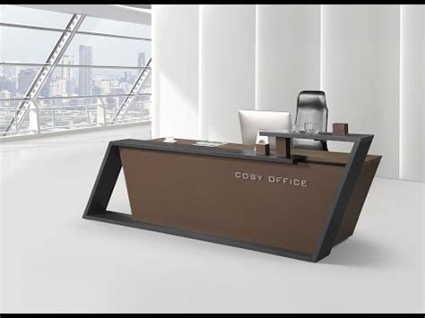 Modern Office Workstations by Most Beautiful Reception Desk Design Youtube