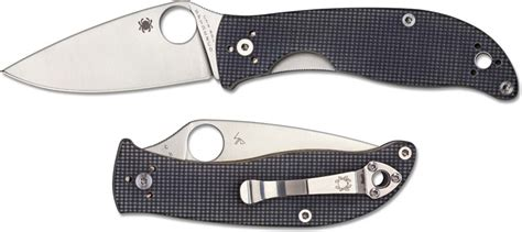 spyderco 3 inch blade spyderco c220gpgy polestar knife 3 3 inch cts bd1 blade
