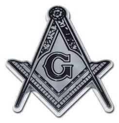 Mason detail chrome auto emblem