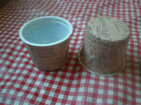 How To Make Paper Mache Pots - recycled plant pots made by toya
