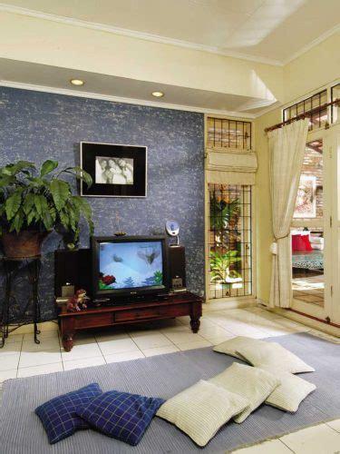 dekorasi ruang tamu  sofa nyaman  indah rumah