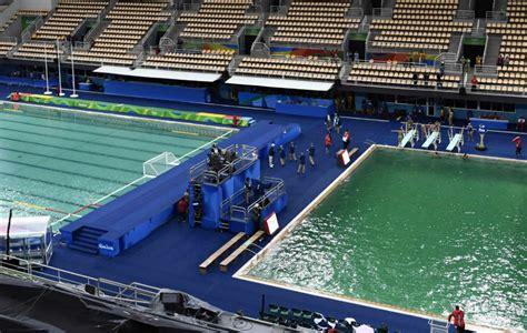 fotos de parque de piscinas y deportes im juegos ol 237 mpicos r 237 o 2016 cierran la piscina de saltos de