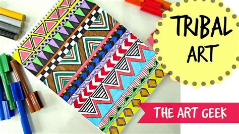 tribal pattern diy diy tribal print doodle youtube