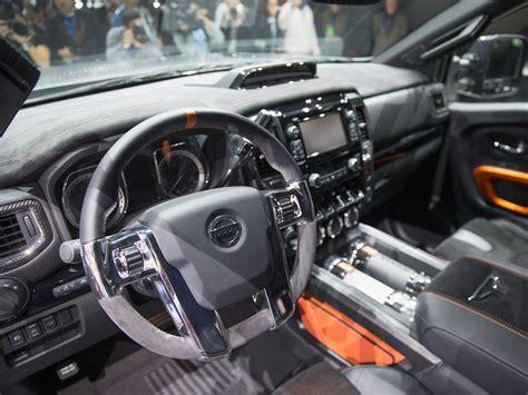nissan titan warrior interior nissan titan warrior truck concept business insider