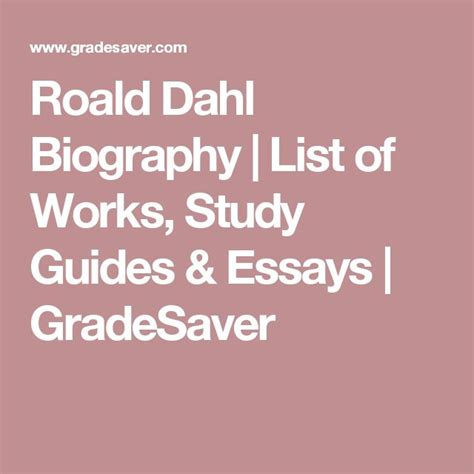 roald dahl biography for students 25 best ideas about roald dahl biography on pinterest