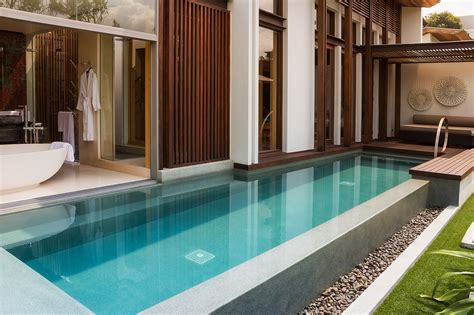 pool in hotel room cool hotels of the world the w retreat koh samui