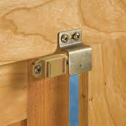 magnetic catch for inset doors rockler woodworking and