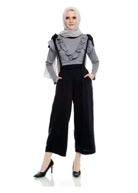 Gamis Overall Stripes By Nibras Nb166 katalog aug 17 overall culotte from in store anasty