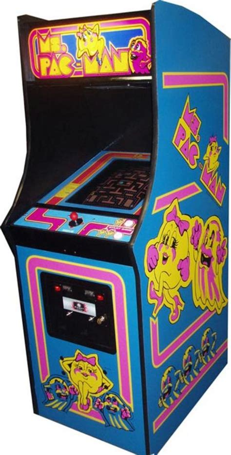 ms pacman arcade cabinet ms pacman arcade for sale vintage arcade