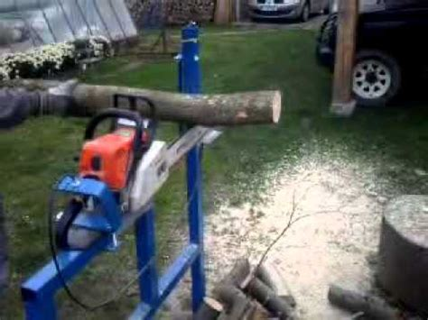 circular saw bench for logs log wood holder for chainsaw log saw bench log