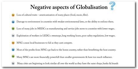 Positive And Negative Aspects Of Tourism Essay by Impact Of Globalization On Culture Essay Buy Essay