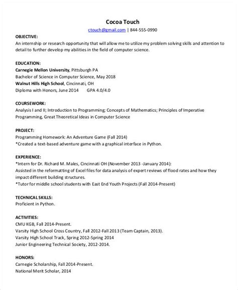 resume format for fresher computer teachers resumes 27 free word pdf documents free premium templates
