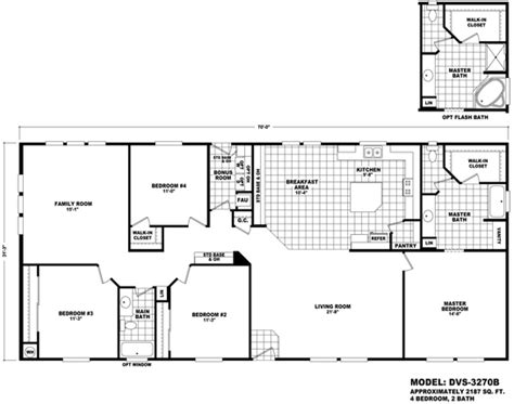cavco floor plans floor plan dvs 3270b durango value series multi section durango homes built by cavco