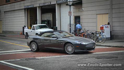 Aston Martin Carolina by Aston Martin Db9 Spotted In Charleston South Carolina On