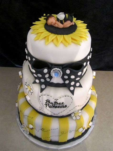 Bumble Bee Cakes For Baby Shower by Baby Bumble Bee Shower Cake Cakecentral