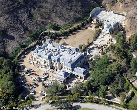 wahlberg s beverly park mansion appears to be