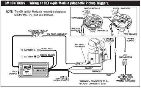 chevy hei coil wiring diagram chevy distributor wiring