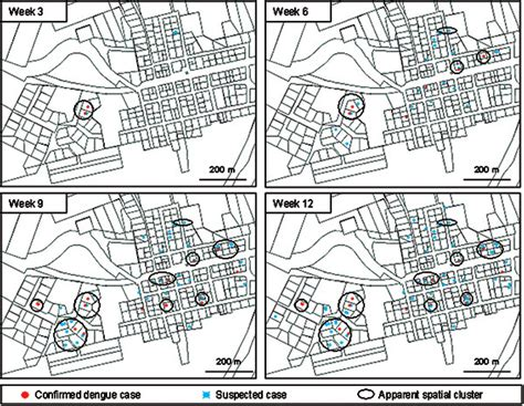 disease pattern in french figure 2 dengue spatial and temporal patterns french