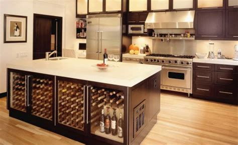 kitchen island with wine storage new storage for an ancient drink