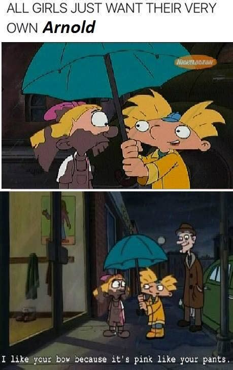 Hey Arnold Meme - download this meme