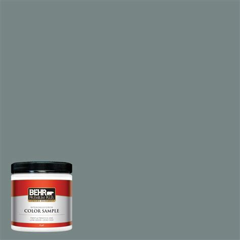 behr premium plus ultra 8 oz ppu12 16 juniper ash interior exterior paint sle ul20316 the