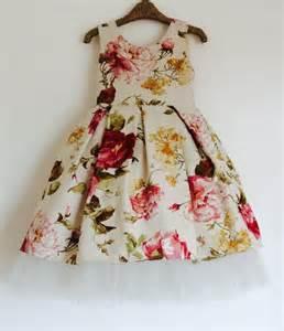 floral cotton flower dress www etsy com shop