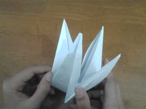 youtube cara membuat origami burung bangau membuat origami burung youtube