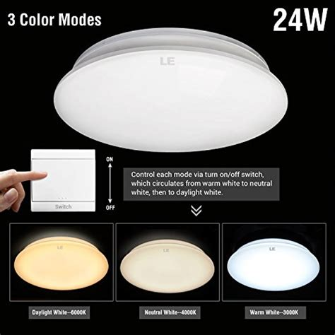 24w 4000 lumens adjustable led ceiling light fixtures le 174 24w 16 inch led ceiling lights 180w incandescent 50w