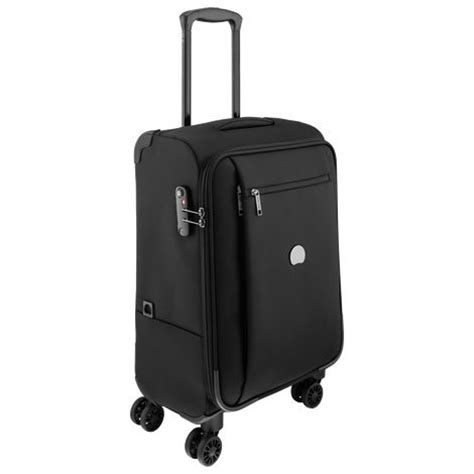 delsey cabin luggage delsey luggage black black 124480100 cabin