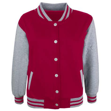 Jaket Base Farsity boys baseball jacket varsity style plain school