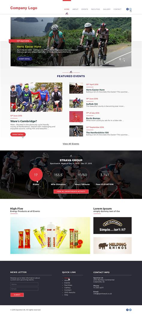 Event Website Template Ved Web Services Event Website Template